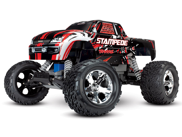 Traxxas Stampede XL-5 2WD with Battery and 12v Charger - RedX TRX36054-1-REDX