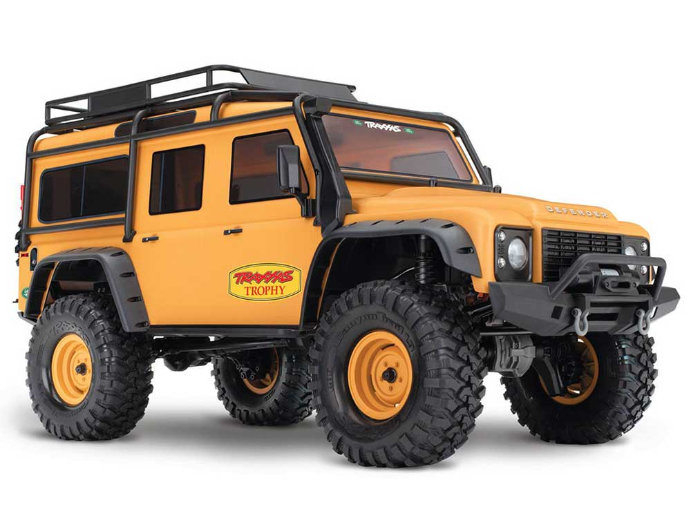 Traxxas TRX-4 Land Rover Defender 110 Trophy Edition 82056-4TAN