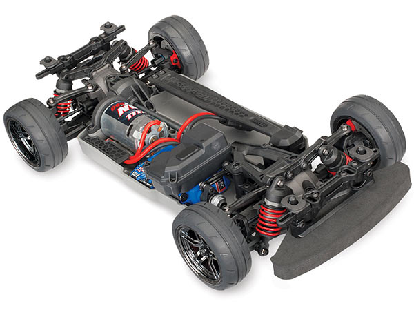 Traxxas 4TEC 2.0 XL-5 Brushed AWD Chassis Only 83024-4
