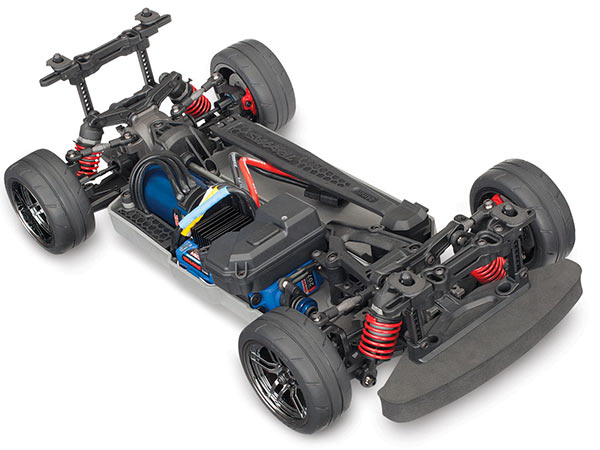 Traxxas 4TEC 2.0 VXL-3S Brushless AWD Chassis 83076-4