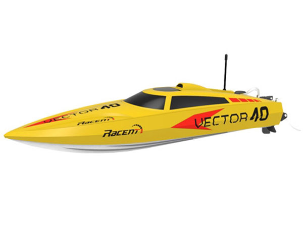 Volantex RC Vector 40 RTR Brushed Boat - Yellow V797-1Y