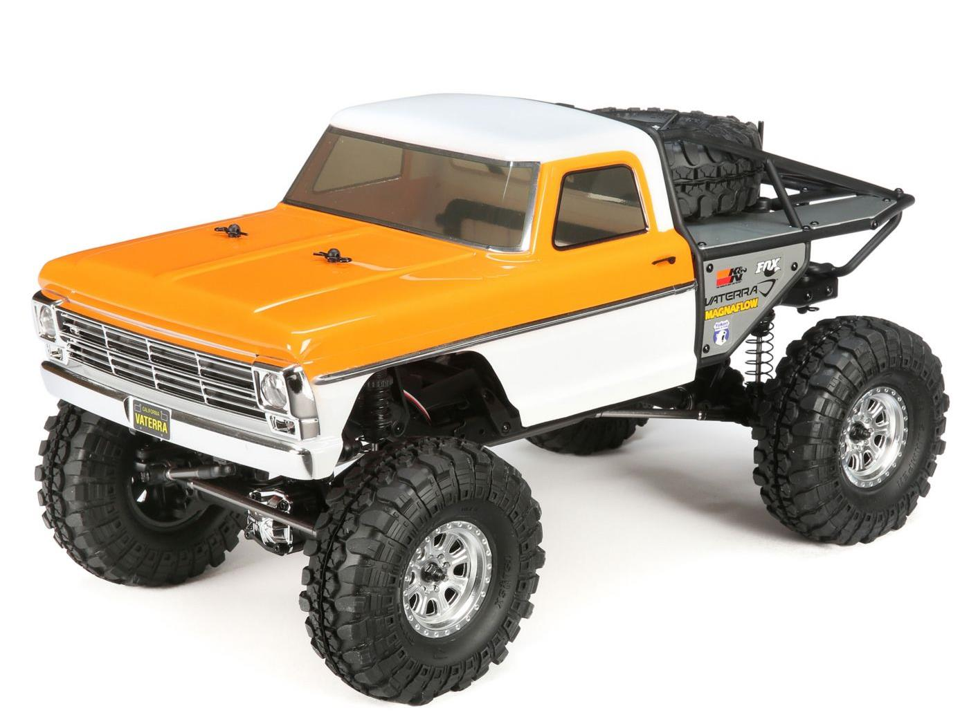 Vaterra 1968 Ford F100 Ascender Bind and Drive: 1/10 4WD VTR03093