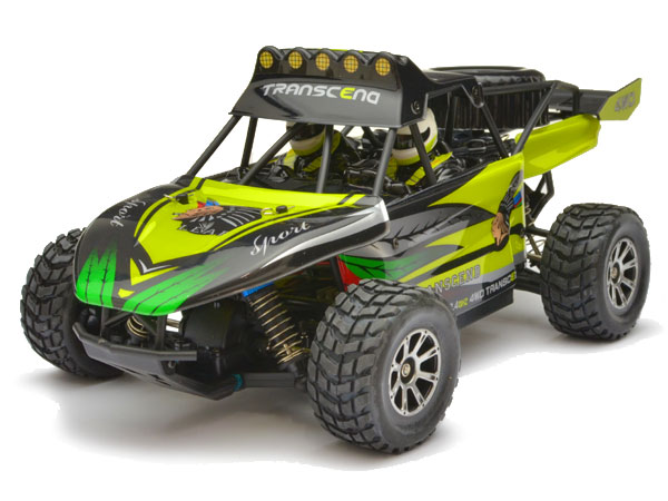 WL-Toys Vortex 1/18th Desert Buggy - Green WLK929