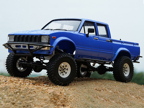 RC4WD Trail Finder 2 Truck Kit LWB with Mojave II Four Door Body Set Z-K0058