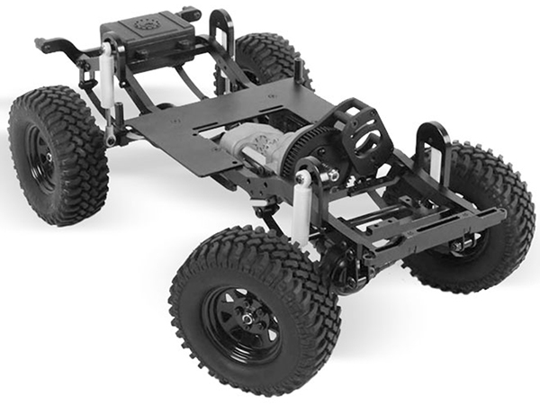 RC4WD ZK0045 RC4WD Trail Finder 2 Truck Chassis Kit SWB Z-K0045