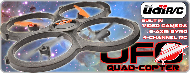 Udi RC UFO Quad Copter