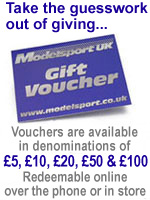 Modelsport Gift Vouchers